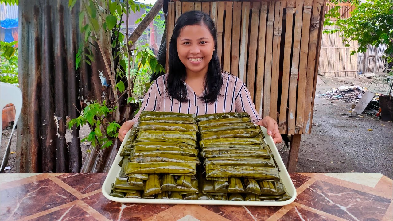 Download Whole Process Of Making Suman Malagkit Very Tasty And Appetizing