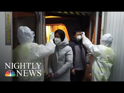Chinese Cities On Lockdown Over Fears Of Deadly Coronavirus  NBC Nightly News