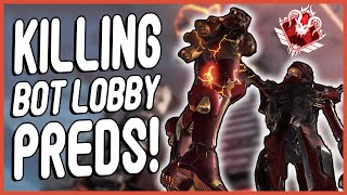 I HUNTED DOWN PRED PLAYERS IN BOT LOBBIES! (Apex Legends)