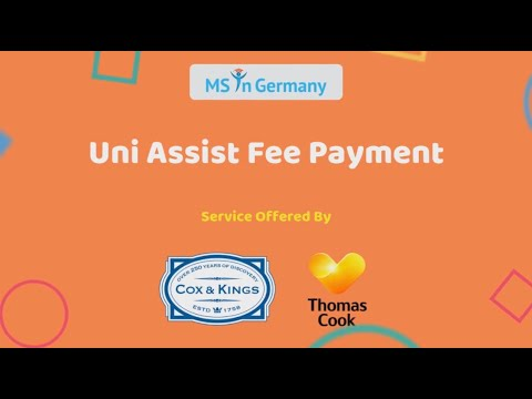 Uni-Assist Procedure for Payment and Sending Application