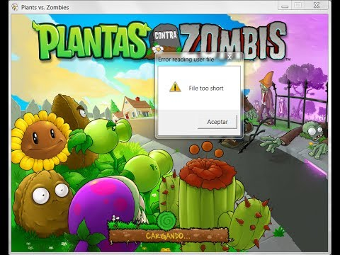 File too short Fix Solucion Plants vs Zombies