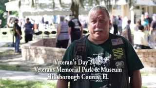 Support Our Troops presents Soldier Stories - Billy - Hillsborough County Veterans Day 2015