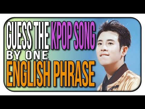 GUESS THE KPOP SONG BY AN ENGLISH PHRASE | Part 4 | KPOP Game | Hard