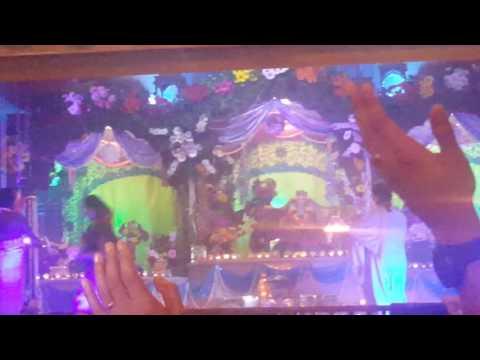 Krishna Janamashtami 2016, Iskcon, NZ- The Lord is born at midnight.