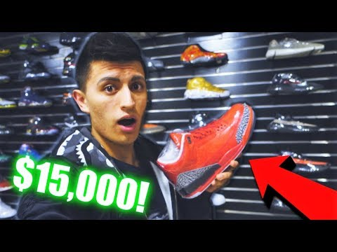 FOUND $15,000 SNEAKERS IN CALIFORNIA! NIKE FLEW ME OUT!