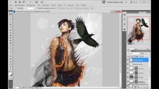 Урок  Как сделать стильный постер в Фотошоп Уроки Фотошопа