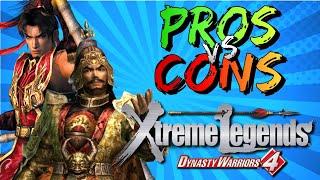 Pros vs. Cons | Dynasty Warriors 4