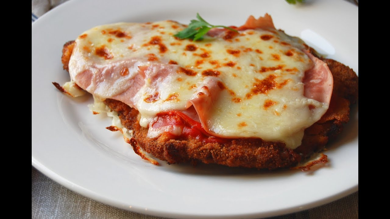 La a milanesa ternera filete