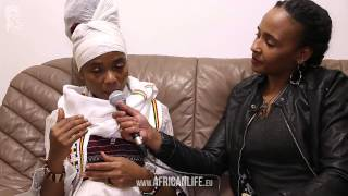 Videointerview Empress Ayeola, Dub Champions Festival, 07.02.2014, WUK, Vienna, Video