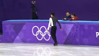 Nathan Chen Morning practice 2018.2.16