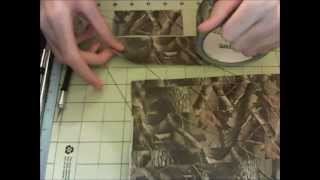 Duct Tape Realtree Camo Time Lapse