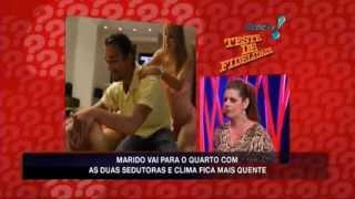 Teste de Fidelidade 16/03/13 - Completo - João Kléber - Rede TV