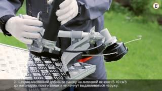 Смазка редуктора мотокосы BC-43Е(, 2015-07-03T13:23:29.000Z)