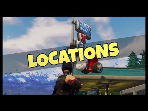 Fortnite: Gas Stations Location Guide