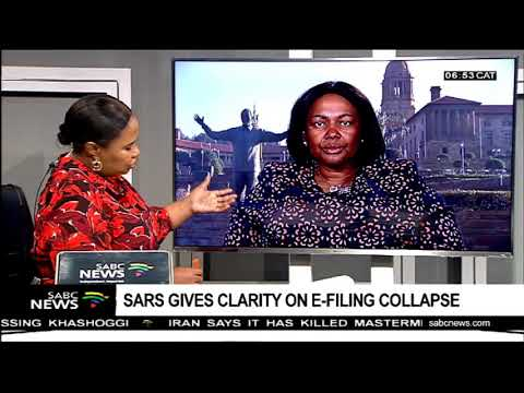 SARS gives clarity on e-filing collapse