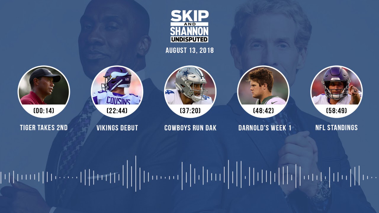UNDISPUTED Audio Podcast (8.13.18) with Skip Bayless, Shannon Sharpe & Jenny Taft | UNDISPUTED