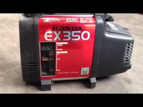 Honda ex350 doovi for Ef600 yamaha generator