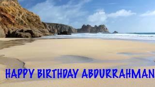 AbdurRahman   Beaches Playas - Happy Birthday