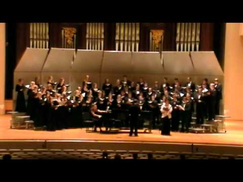 Baylor A Cappella Choir - Fern Hill - Corigliano