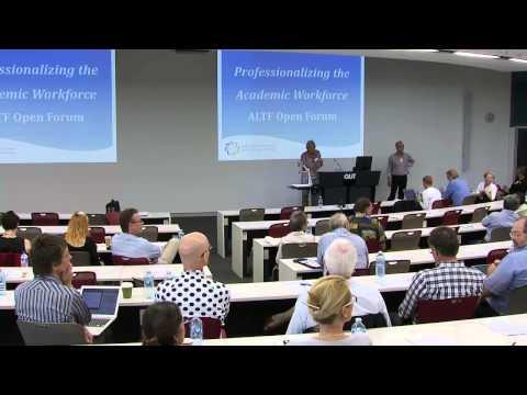 Professionalising the academic workforce
