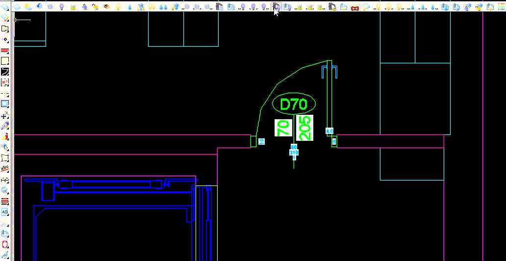 How to create a door automatically and its attributes in Autocad with APLUS plug-in. & How to create a door automatically and its attributes in Autocad ...