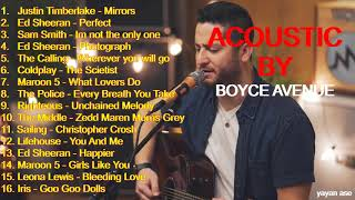 Download Boyce Avenue FULL ALBUM NEW VERSION 2019 ( ACOUSTIC ) Mp3