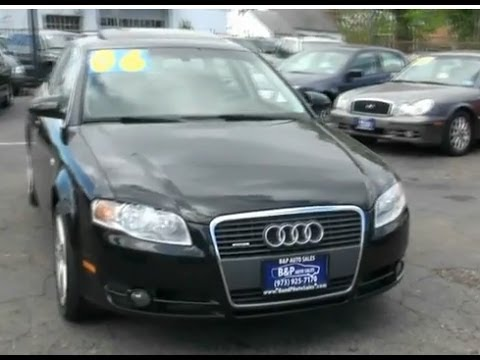 2006 Audi A4 2.0T Quattro Turbo Sedan