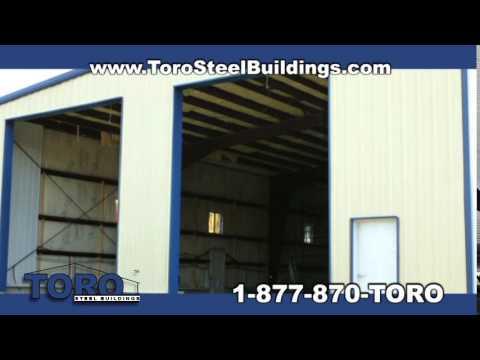 Transport Storage Metal Building - Toro Steel Buildings