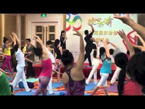 Master Hari Om Yoga arts dance workshop on 24-6-2015@5th International Yoga Championship BJ