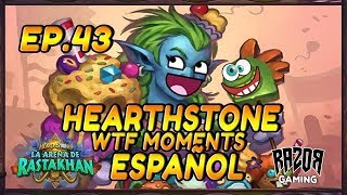 MEJORES MOMENTOS HEARTHSTONE ESPAÑOL | Episodio 43