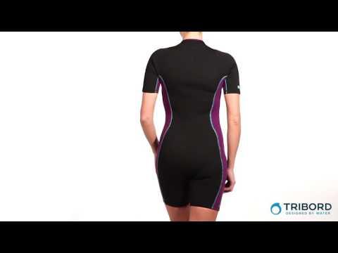 плавание в гидрокостюме - YouTube