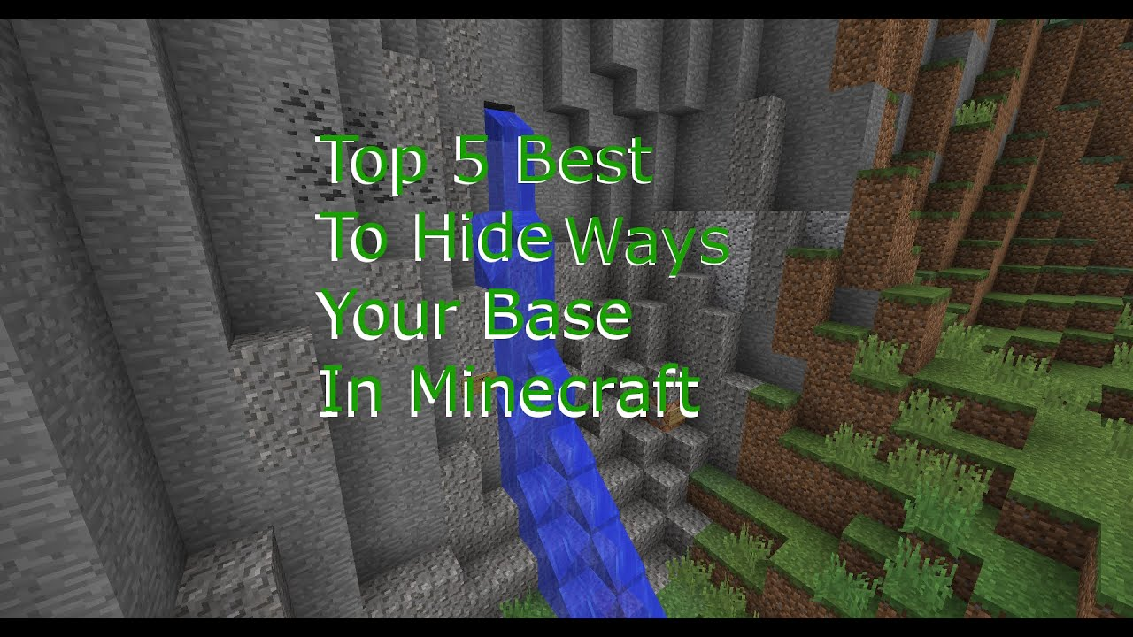 Top 5 Best Ways To Hide Your House In Minecraft