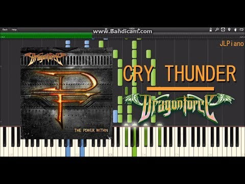 Cry Thunder - Dragonforce (Synthesia Piano Solo) *SHEET MUSIC*