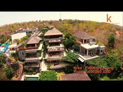 Unique cliff front real estate for sale in Padang Padang VL0751