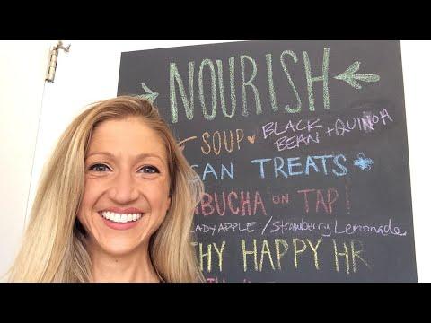 Nourish cafe in San Francisco! Healthy plant based delicious food!!