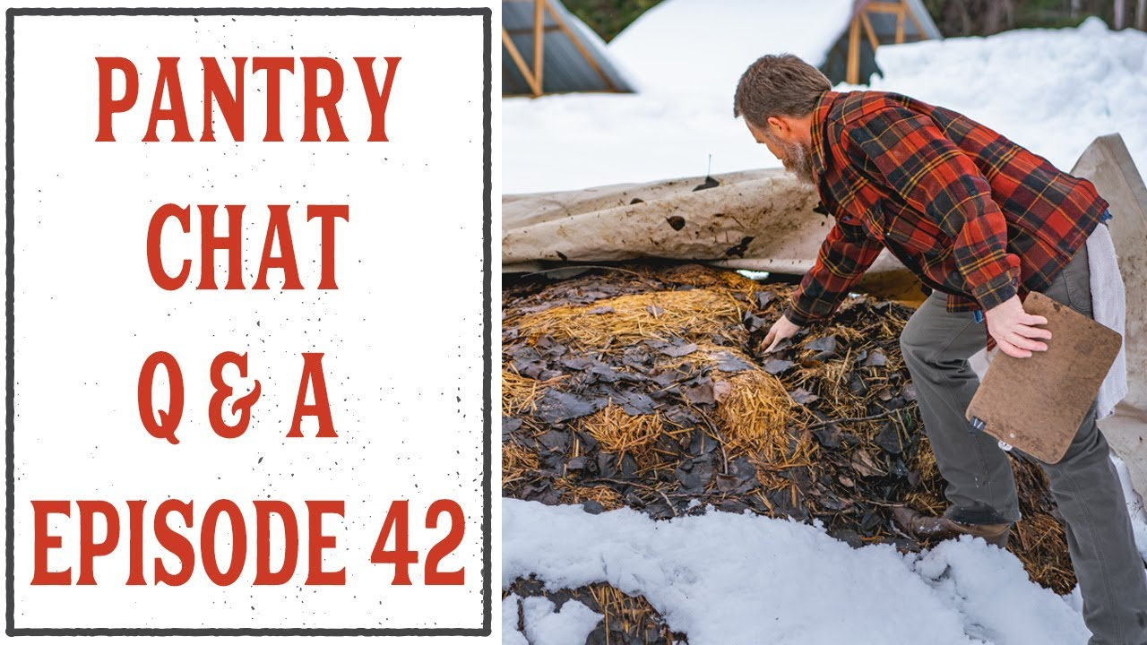 PANTRY CHAT Q & A - EPISODE #42 - HOMESTEADING FAMILY