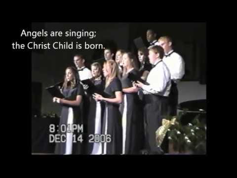 Candlelight Carol ~ John Rutter (lyrics included)