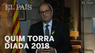Discurso de QUIM TORRA para la Diada 2018