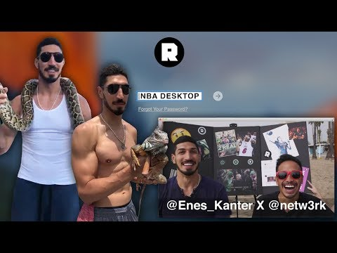 Enes Kanter Finally Comes On Desktop | NBA Desktop With Jason Concepcion | The Ringer