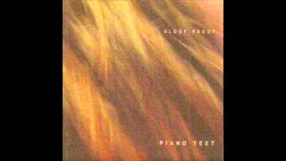 Aloof Proof - Piano Text (Album)