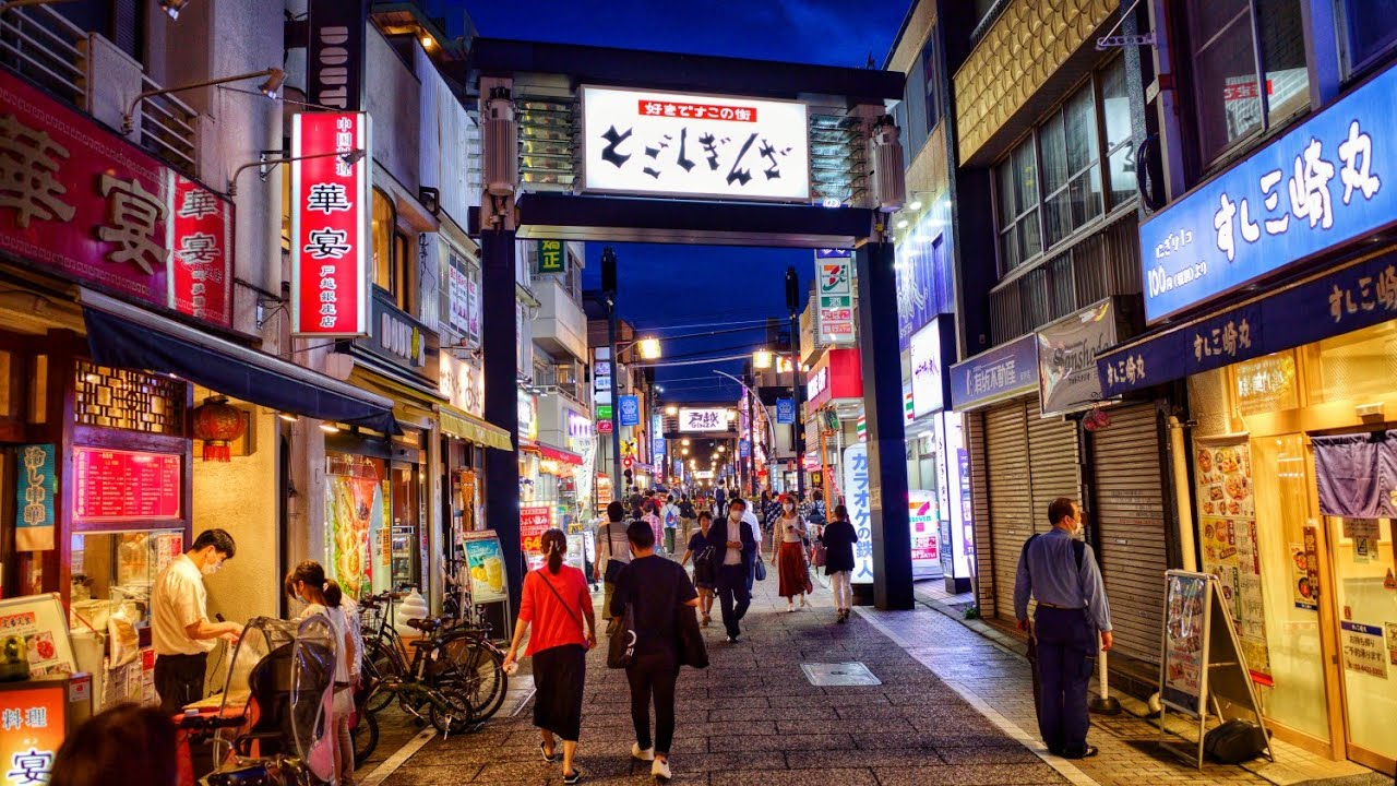 4K Tokyo Evening Walk - Togoshi Ginza and Musashi Koyama shopping streets - 戸越銀座 武蔵小山