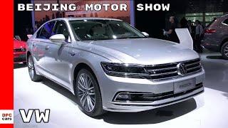 Volkswagen At Beijing Motor Show – Auto China 2018