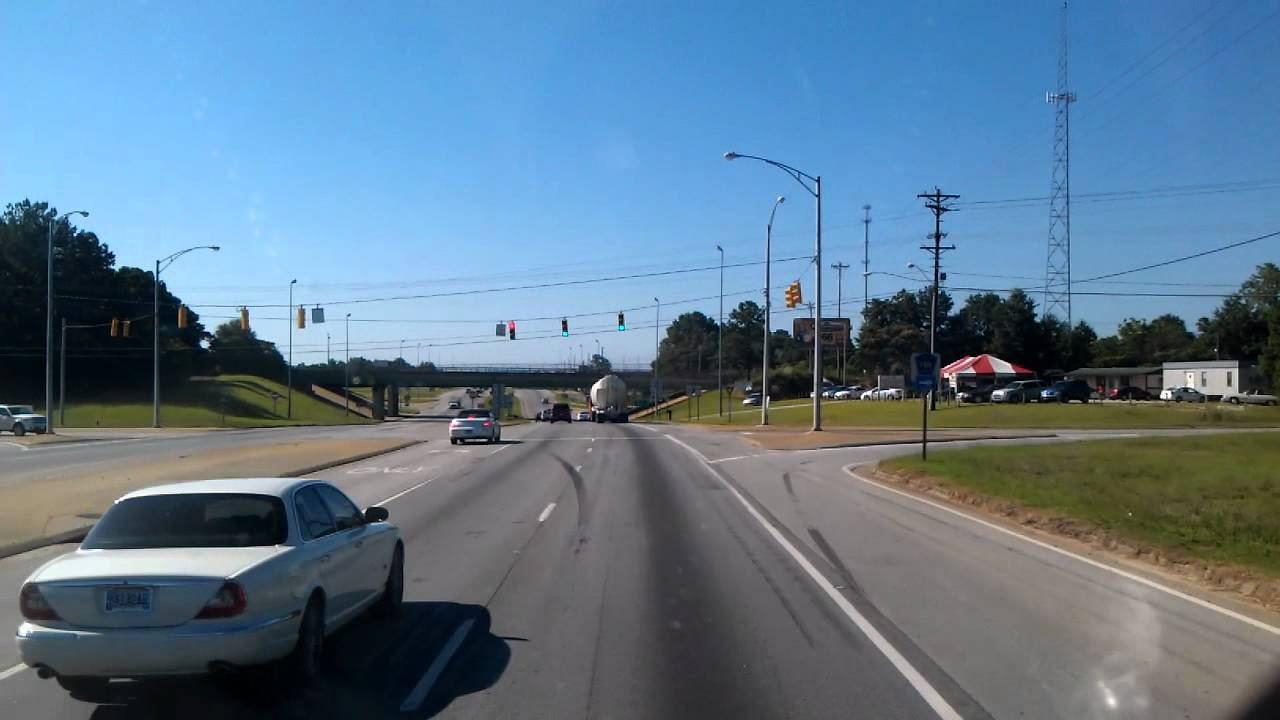 Troy, Alabama on US Highway 231