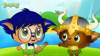 Smighties - Treasure Hunt Island and Bandits Stole the Map | Cartoons for Kids | Funny Kids Cartoons