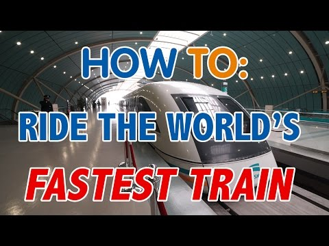How to: Ride Shanghai's Maglev