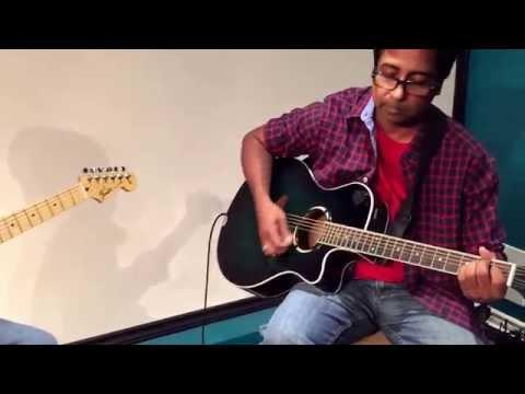 Yaar Indha Saalai Oram - Guitar Cover by Anjalan