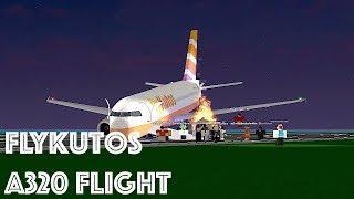 ROBLOX | FlyKutos A320 EMERGENCY LANDING