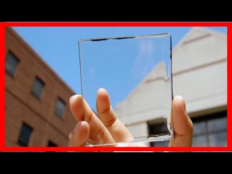 Breaking News | Michigan state scientists develop transparent solar cell technology
