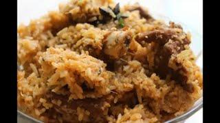 mutton biryani recipe in kannada/mutton dum biryani recipe in kannada
