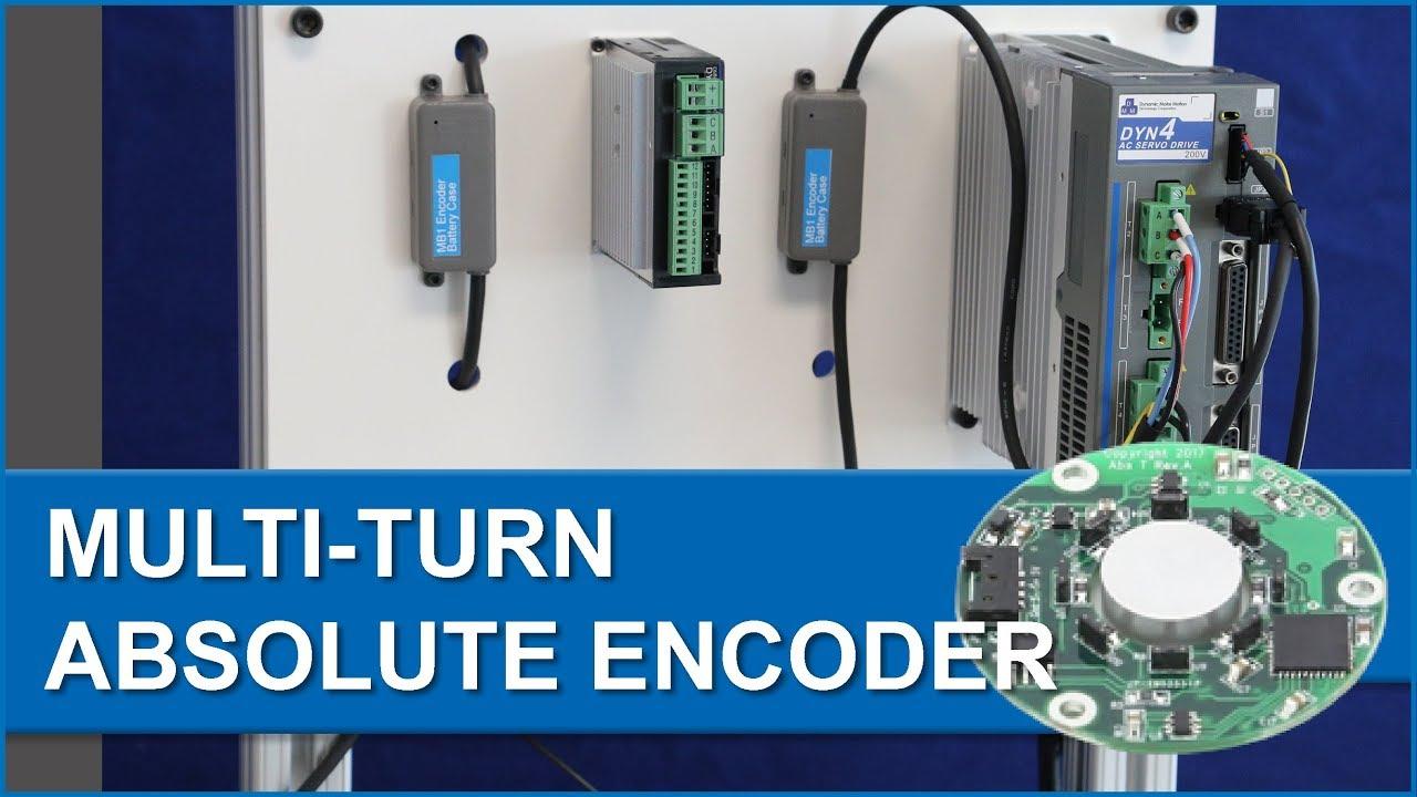 Multi-Turn Encoder and Servo System Introduction